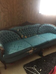 Antique couch needs to be reupholstered