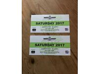Goodwood Festival of Speed Tickets + Grandstand + Programme £200