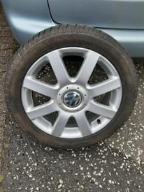 Reduced Volkswagen Golf R Alloy Wheels 215 45 17