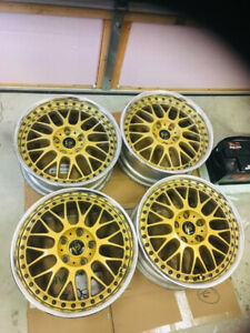 work vs xx gold  5x114 x 17x7.5 japan