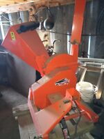 """Wallenstein 3"""" wood chipper model BX32 only used 4-6 hours."""