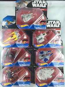 Star Wars Vehicles Collection (7 pc) 100% Brand New