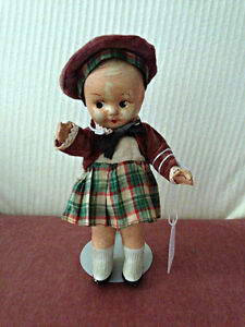 "Reliable 8"" Composition 'Standing Doll!' circa 1945 London Ontario image 2"