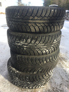 205/55/R16 Winter Tires & Rims For Sale 5x114.3