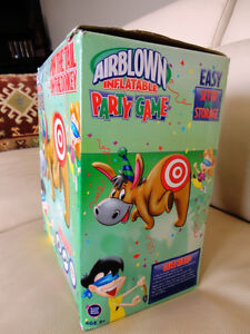For Rent -4' Airblown Inflatable Pin The Tail On The Donkey Game Kitchener / Waterloo Kitchener Area image 4