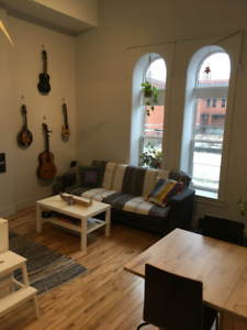 1 bedrm suite in North End. Bright, pet friendly, great location