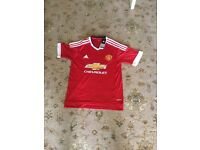 Job lot Manchester United kits