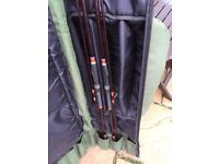 Pair Of Carp Rods And A Spod Rod Plus Holdall