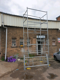 NEW DIY SCAFFOLD TOWER 6.4 METRES / 21FT WORKING HEIGHT AVAILABLE