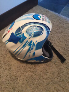 Lange Jr. Racing Helmet