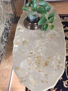 Marble vintage coffee table set Strathcona County Edmonton Area image 6