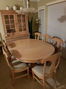 Kitchen/Dining Table and Cabinet set for sale