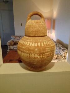 Large clay jug
