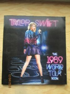 Taylor Swift The 1989 World Tour Book with Holographic Cover