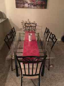 Dinning table with six chairs**reduced**