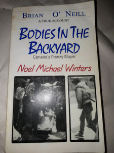 Rare Autographed In 1993 Original Bodies In The Backyard Book