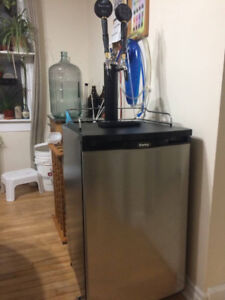 Kegerator, upgraded from 2 tap Costco base model