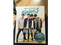 Union J signed book!