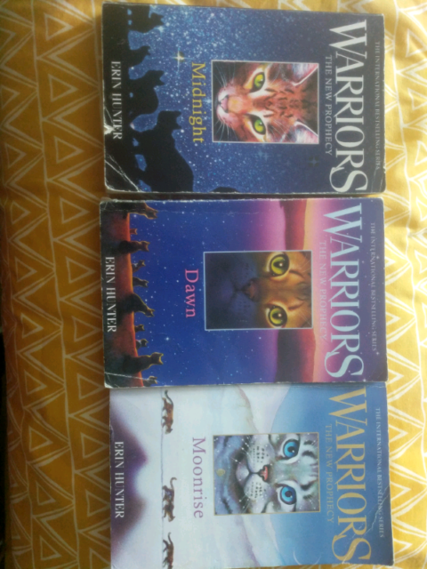 Warriors The New Prophecy Warrior Cats By Erin Hunter 3 For All In Charlton Kings Gloucestershire Gumtree