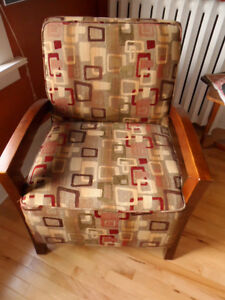 comfortable upholstered side chair