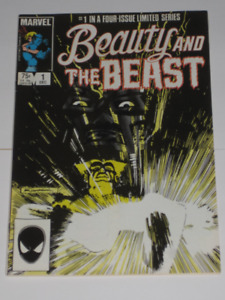 Marvel Comics Beauty and the Beast#'s 1,2,3 & 4 comic book