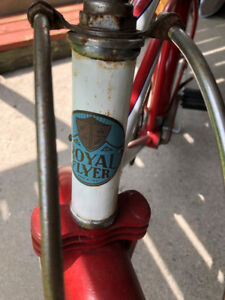 Vintage Royal Flyer Bicycle