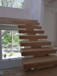 Stair manufacturer in Toronto .  Any type of stairs and Railings