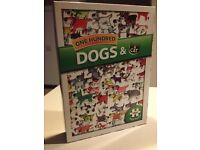 Jigsaw One Hundred Dogs and a Cat 1000 piece puzzle