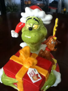 Dr. Seuss The Grinch Limited Edition Cookie Jar