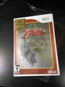 Zelda Twilight Princess, for Wii, complete in box.