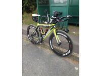 Carbon 88mm time trial or road Wheelset