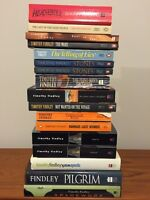 TIMOTHY FINDLEY collection of books