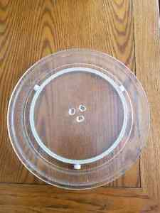 "13"" microwave plate and ring"