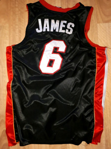 NBA/Adidas Miami Heat Lebron James Jersey