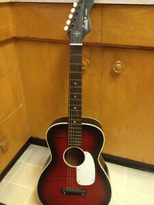 Stella harmony vintage guitar USA model.