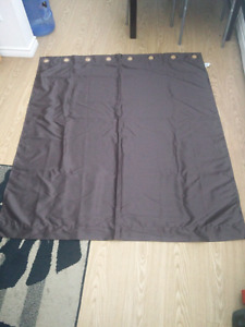 Four 5'X5'  curtains for sale like new condition