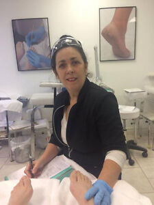 podologue ,hygieniste en soin pieds