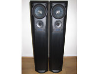 MISSION 782 Speakers Floor Standing Black Ash 200W 3-way Home Cinema Large Audiophile