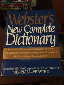 Webster's New Complete Dictionary