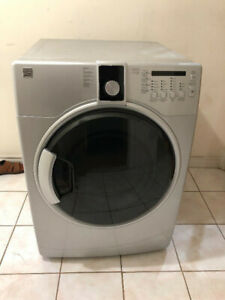 "Kenmore 27"" grey frontload stack able electric dryer"