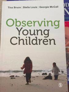 CLD 102: Observing Young Children (Ryerson ECS Textbook)