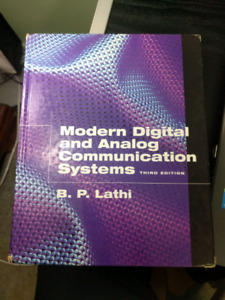 Modern Digital and Analog Communication Systems (3rd edition)