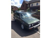 Golf gti mk2 16v 2.0 ABF conversion