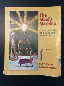 The Mind's Machine Textbook; 1st Edition by Watson and Breedlove