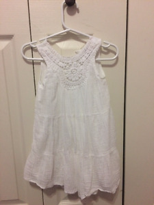 Old Navy White Dress - 18-24M
