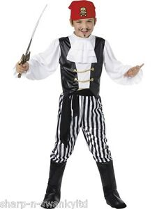 Boys-Jolly-Roger-Pirate-Party-Book-Day-Halloween-Fancy-Dress-Costume-Outfit