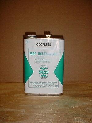 1 Qt Concrete Mold Release Mould Parting Agent Oil Commercial Grade