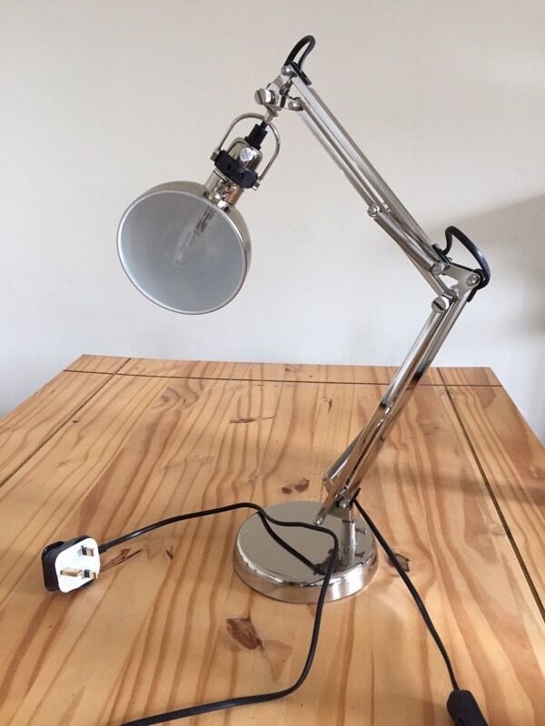 Silver Ikea Forsa Anglepoise Desk Lamp In Comely Bank