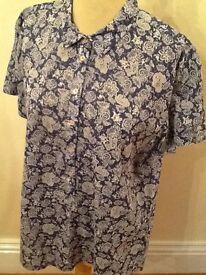 Van Den Bergh 100%cotton women's shirt 14-16