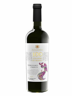 Fanagoria 100 Colours of Russia Rotwein trocken Tzimliansky Chernyi Вино Vino